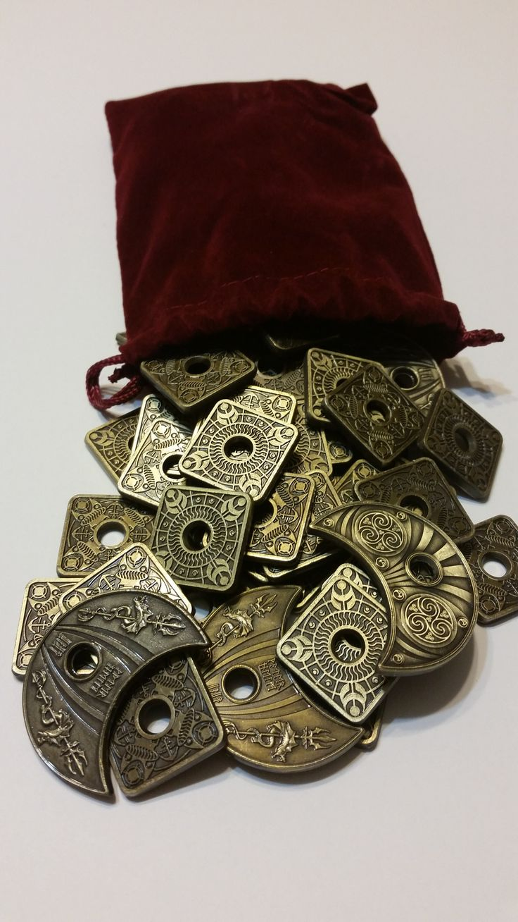 The Lords of Waterdeep Metal Coin Set is the perfect way to enhance your Lords…