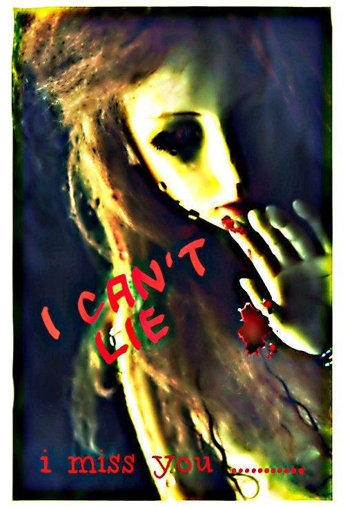u know ... i can't lie  i miss u ..   :'(