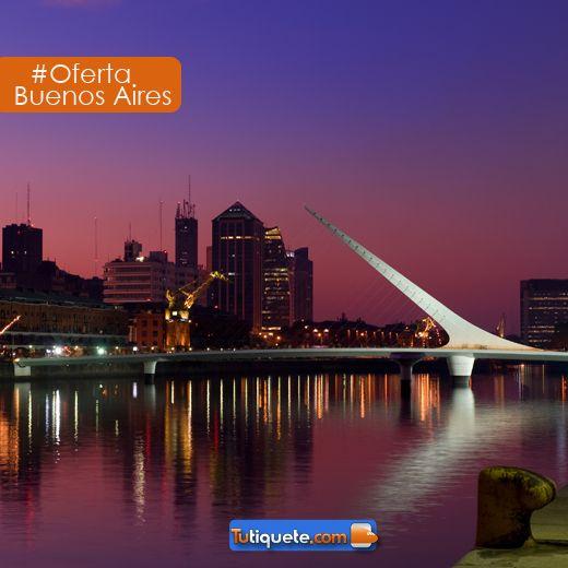 #Oferta Visita la capital mundial del tango al mejor precio con tiquete aéreo - baja temporada desde USD 1.060 http://goo.gl/mzQz37