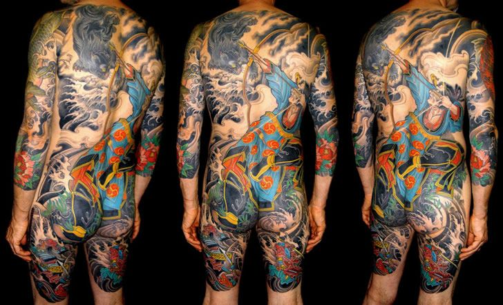 Body Suit Tattoos › Illusion