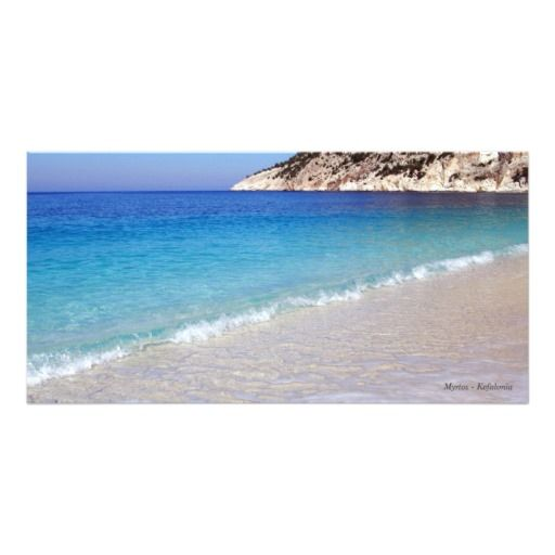 Myrtos – Kefalonia Personalized Photo Card