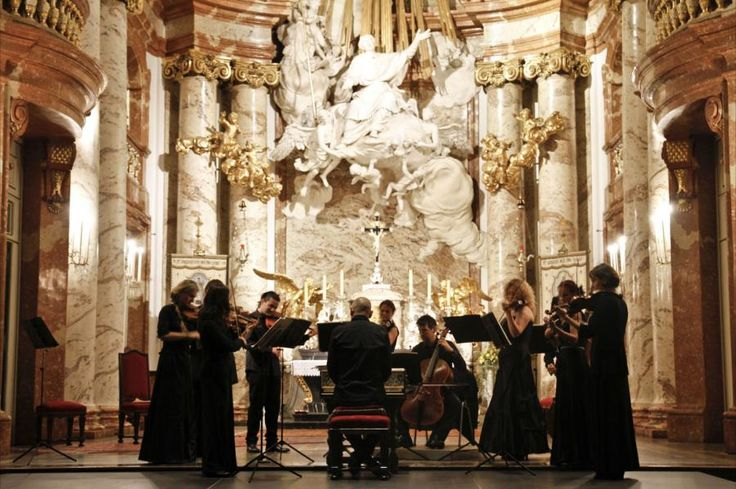 "Unmistakably Vivaldi's most famous work, and one of the most popular pieces of Baroque music, ""The Four Seasons"" masterpiece is sure to amaze you. Enjoy an unforgettable evening of classical music by the Ensemble 1756, surrounded by the majestic interior of St. Charles's Church in Vienna with Tourboks."