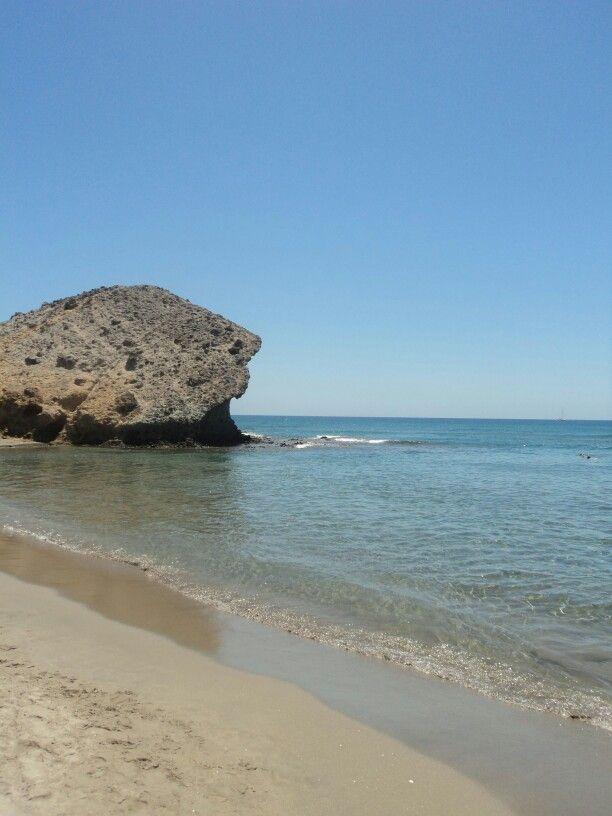 Playa de los Genoveses, Cabo de gata, Almeria