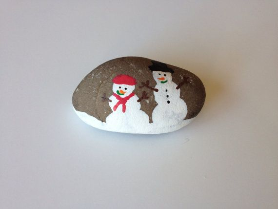 Christmas Crafts Painted Rocks