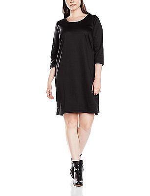 UK UK XL, Black - Schwarz (Black 199), zizzi Women's O10571a Dress NEW