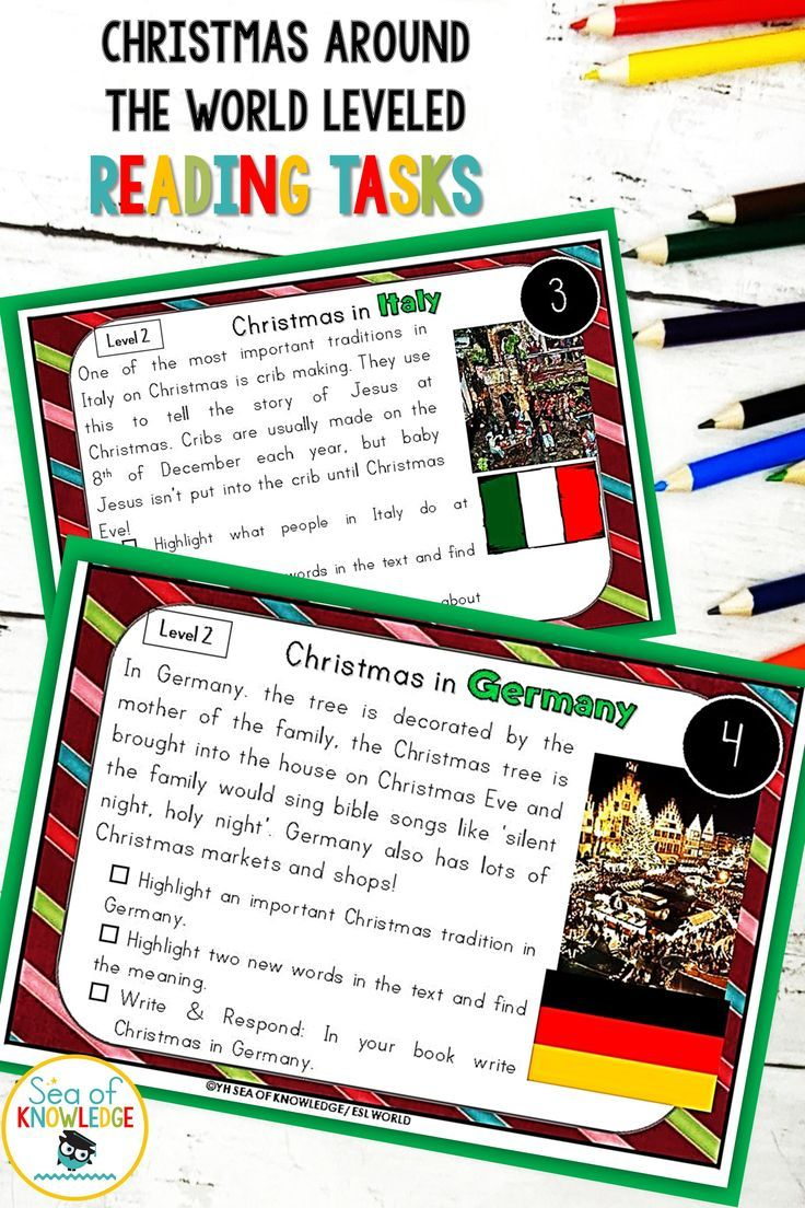 Christmas Around The World Leveled Reading Comprehension Task Cards Decembe Reading Comprehension Task Cards Christmas Reading Comprehension Christmas Reading [ 1104 x 736 Pixel ]