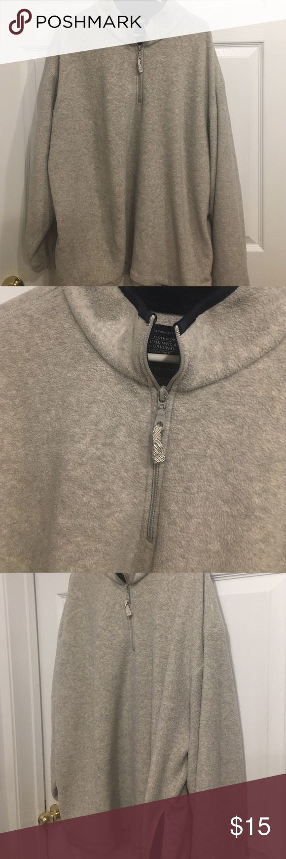 Men's Faded Glory Warm Pull Over XL Men's faded Glory warm soft comfy pull over. Zipper at top. Fleece size XL. Worn once excellent condition. Side pockets Faded Glory Shirts