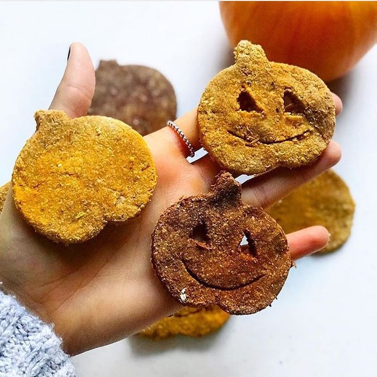 celebrating #halloweeneve with these delicious jack o' lantern cookies! Stay tuned for the recipe on our Fall Roundup   ________________________________ /: @wholeonlife #hallowseve #Halloween #trick #treat #trickortreat #goodeats #healthy #nutrition #health #healthyliving #foodie #foodblogger #leanfit #protein #leanfitbrand #recipe #inspo #pumpkin #pumpkineverything