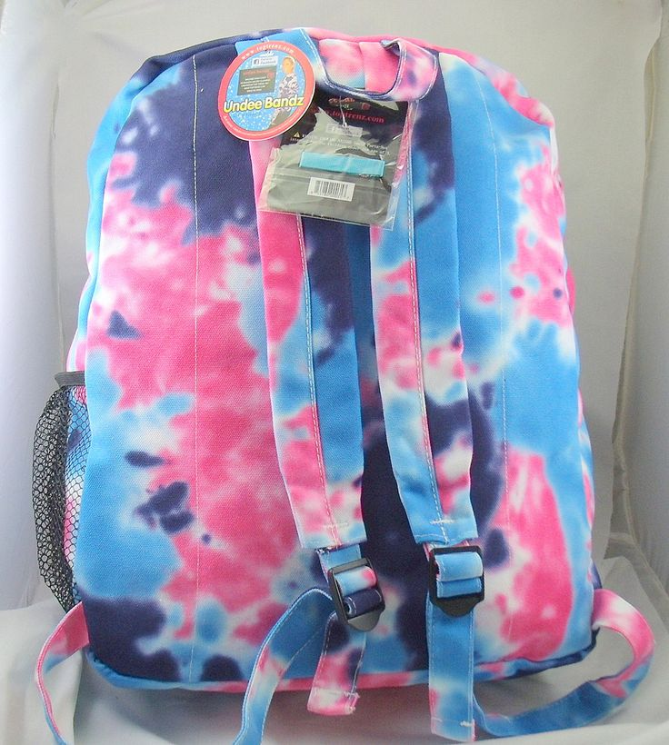 tie dye backpack-blue and pink | julia | Pinterest