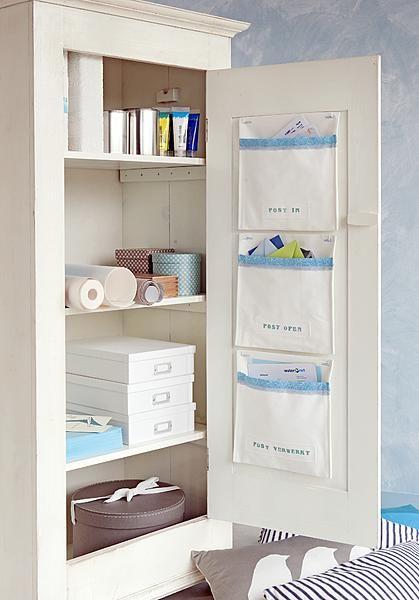 On linen closet, Emy's closet, or even bedroom closet doors...oooh...and bathrooms.