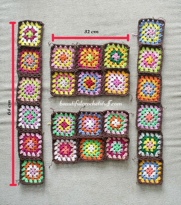 Granny Squares Cardigan Pattern (Work In Progress) | Beautiful Crochet Stuff