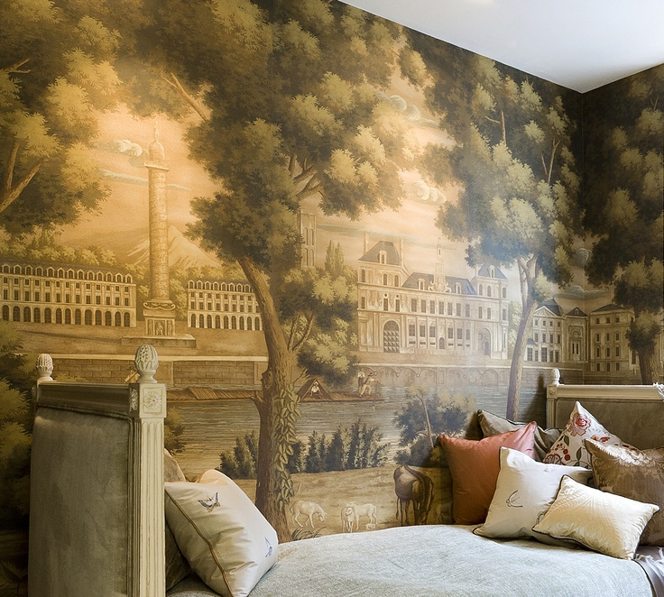 de Gournay Wallpapers available through ST LEGER AND VINEY - Monuments of Paris