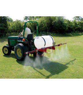55 Gallon Three Point Sprayer In Action