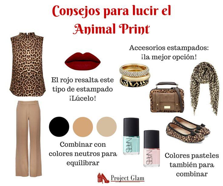 """La mejor opción es lucir el estampado Animal Print en nuestros accesorios. Aquí aplica el """"menos es más"""", así que no te excedas con las prendas de este estilo"""