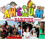 "Awsum Parties - Hillcrest, Durban is a fantasical party venue and party supply company believing that children should be able to dream and fantasize and have imagination filled parties. Various themes at the venue in Hillcrest or pre packed ""parties in a parcel"" where all the props are given to make a child's party magical and different."