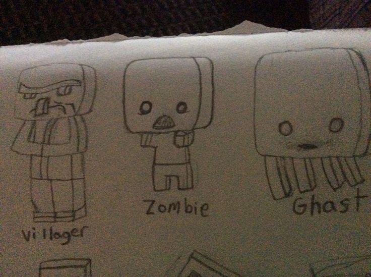 Cute Minecraft chibi's