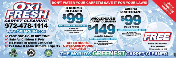 Top Rated Carpet Cleaner in Coppell coupon