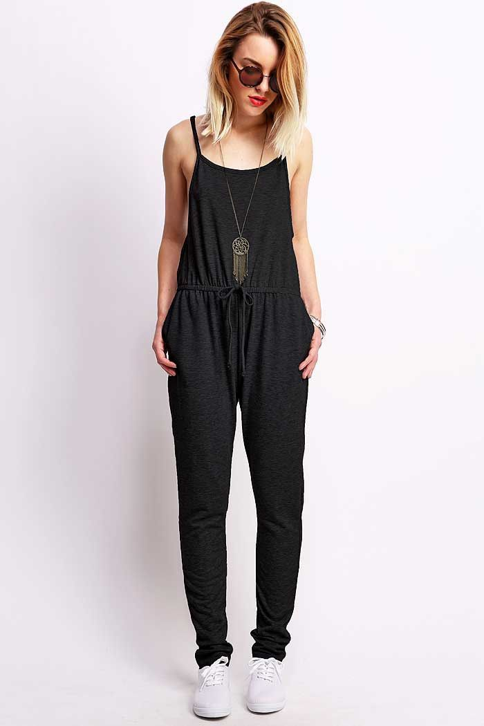 the only jumpsuit i like  On Track Jogger Jumpsuit