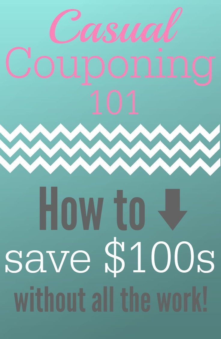 Couponing Tips to Save You Money and Time