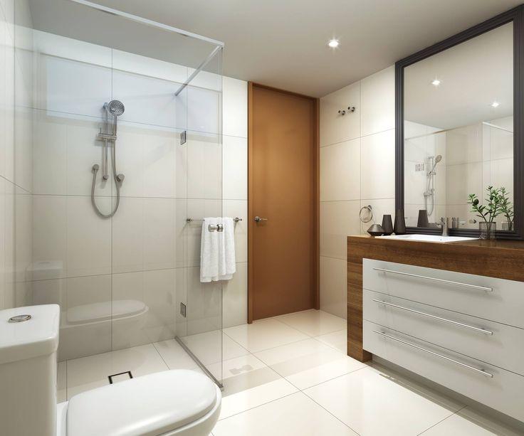 Unit development Windsor, Brisbane - Bathrooms