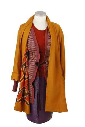 Shop L U C Y A-Line Coat by IOSOY now on nelou.com. Plus 8600 more designs.