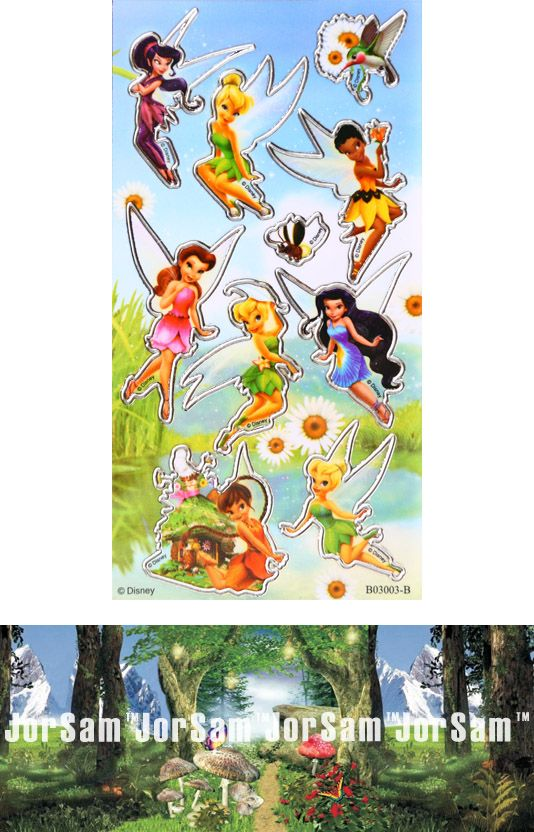 Tinkerbell and Fairy friends D.I.Y. licensed sticker money box