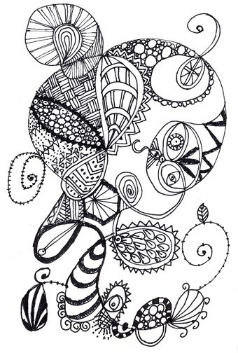 2131 Best Images About Zentangle On Pinterest