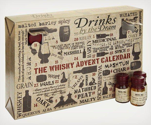BUY: Whiskey Advent Calendar! ($160.00) - http://jobbiecrew.com/luxury-xmas-advent-calendars/