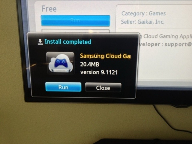 Gaikai Cloud Gaming beta launched on some Samsung smart TVs