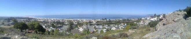 Pismo Beach, California panarama
