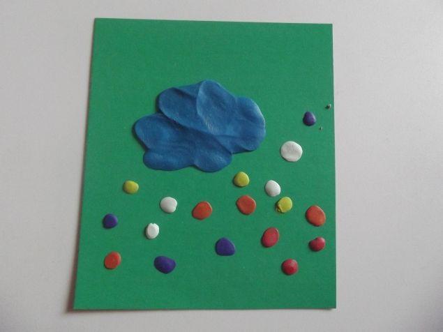 Разноцветный дождик . - Поделки с детьми | Деткиподелки
