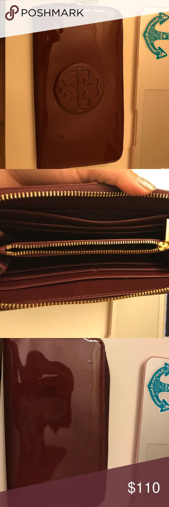 Tory Burch Continental Wallet Gently used Tory Burch Bags Wallets