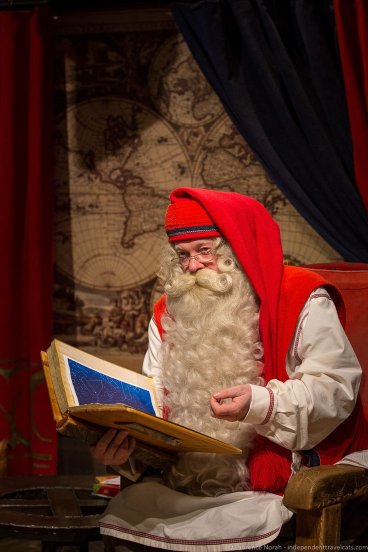 You can viisit Santa Claus in the Finnish town of Rovaniemi - Visiting Finland in Winter: Top 15 Winter Activities in Finland
