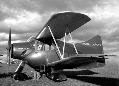 Re: Weird Aircraft. Gwinn Aircar