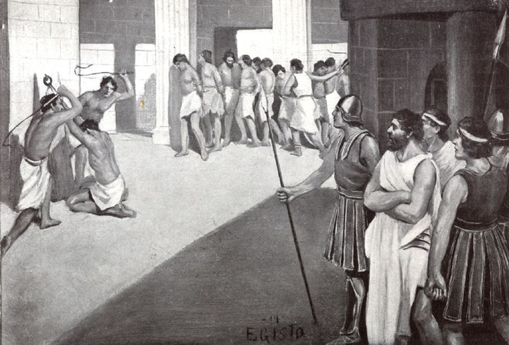 725 BC - Sparta conquers Messenia and forms Helot slavery. Having slaves to do all the tedious work of farming allows the Spartans to spend all their time in military training.