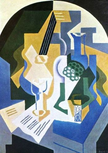 Guitar Still Life by Gris