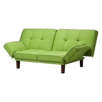 Sofa Bed Futon Intense Jade Would Look Pretty With Bright Colorful Pillows