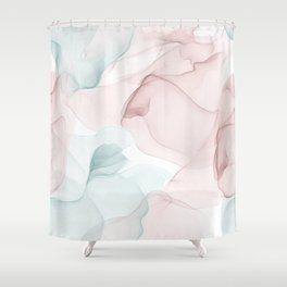 Shimmer Shower Curtains Society6 Shower Curtains Prints