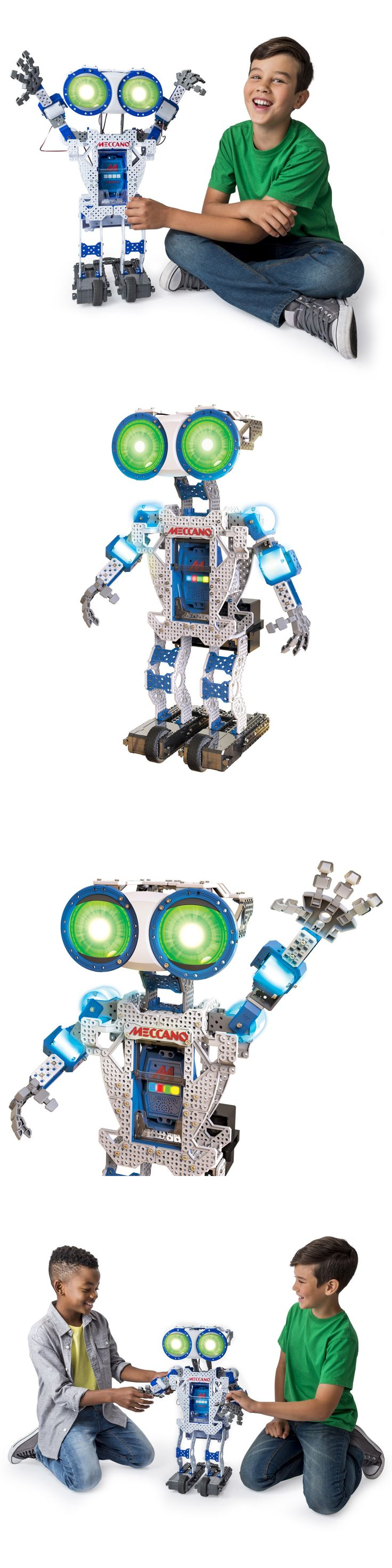 1980-Now 4318: Meccano Meccanoid Game Kids Toy Boys Fun Tech Build Your Own Robot Top Quality -> BUY IT NOW ONLY: $92.11 on eBay!