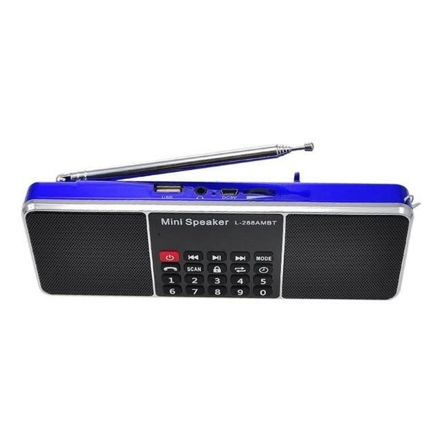 L 288ambt Mini Portable Rechargeable Bluetooth Wireless Speaker