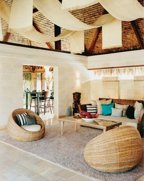The St. Regis resort in Bora Bora has ninety-one private villas and a Jean-Georges Vongerichten restaurant.