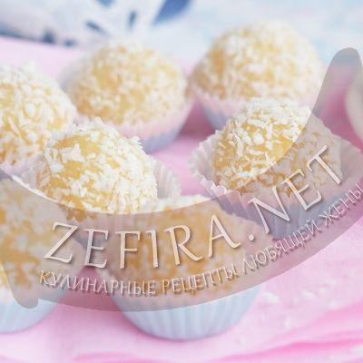Кокосовые конфеты рафаэлло из сгущенного молока-домашние рецепты с фото