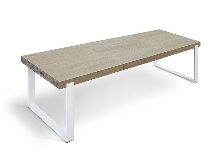 FRAME - dining table with folding option - www.miloni.pl/en MILONI: wooden table, oak table, natural wood table, table design, furniture design, modern table