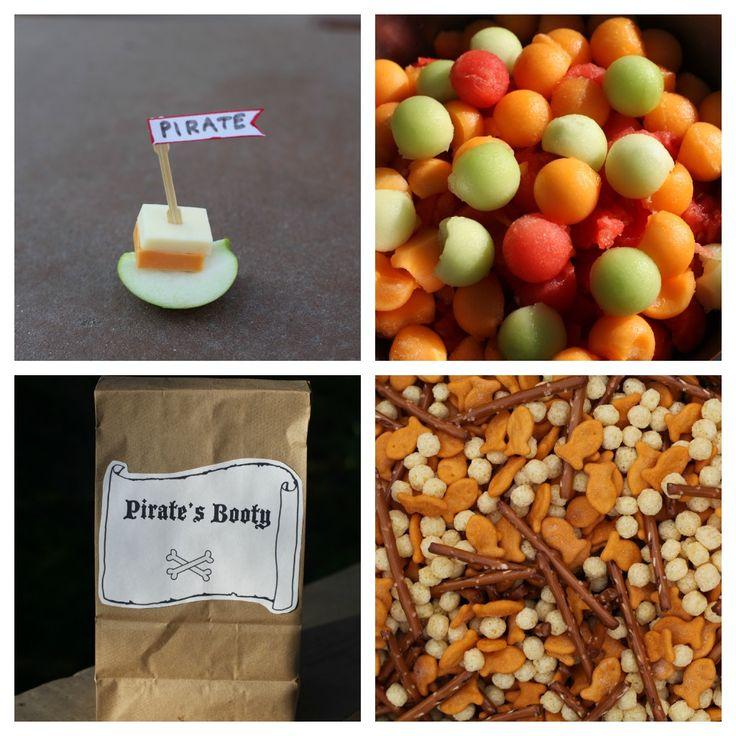 Pirate snacks