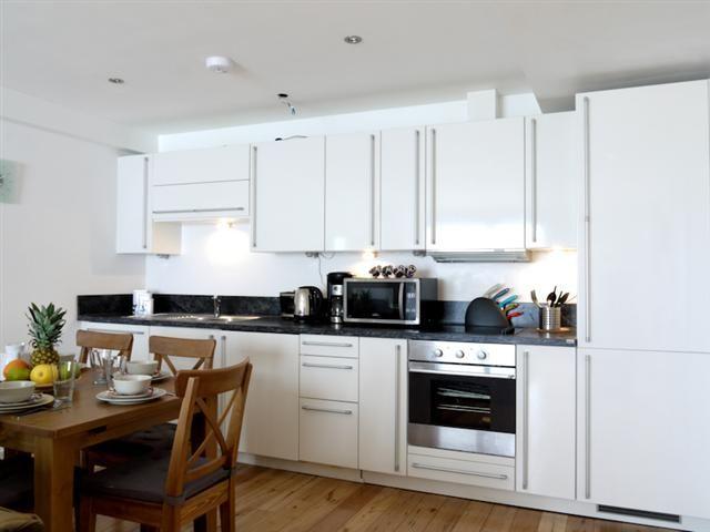 Kitchen room view