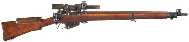 British Enfield No. 4 Mk. 1 (T) Sniper in .303 British