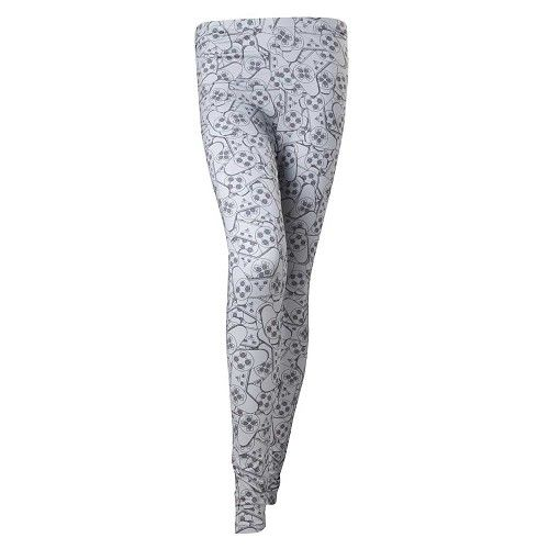 PlayStation - Controller all over print legging grey - Games merchandise spelcomputer