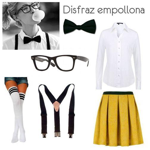 Disfraz casero para Halloween http://cocktaildemariposas.com/2014/10/10/disfraces-caseros-para-halloween/
