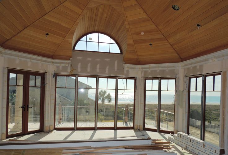 Maximize the view floor to ceiling steel reinforced for Reclaimed upvc french doors