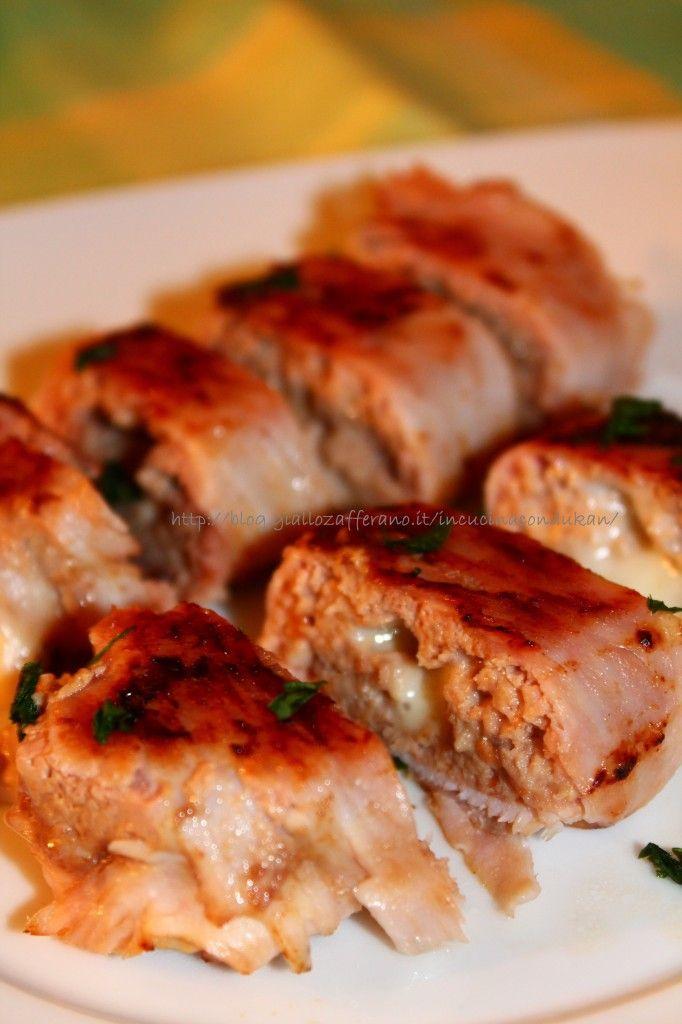 Mini polpettone prosciutto e formaggio - Mini ham and cheese meatloaf